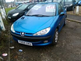 PEUGEOT 206 1997 cc diesel very tidy car inside and out full year mot 4 door hatch back
