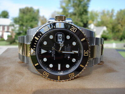 Rolex Submariner-C 116613  SS/18k Black Dial *New Style*!!!