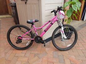 Girls apollo recall mountain bike