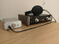 Graham Slee SRG II Green Headphone amp + Teac UD-501 DSD DAC + Sennheiser HD 600 Headphone