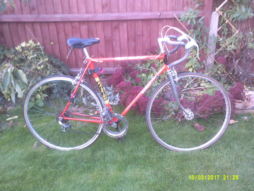 RALEIGH EUROPA RACER ONE OF MANY QUALITY BICYCLES FOR SALE