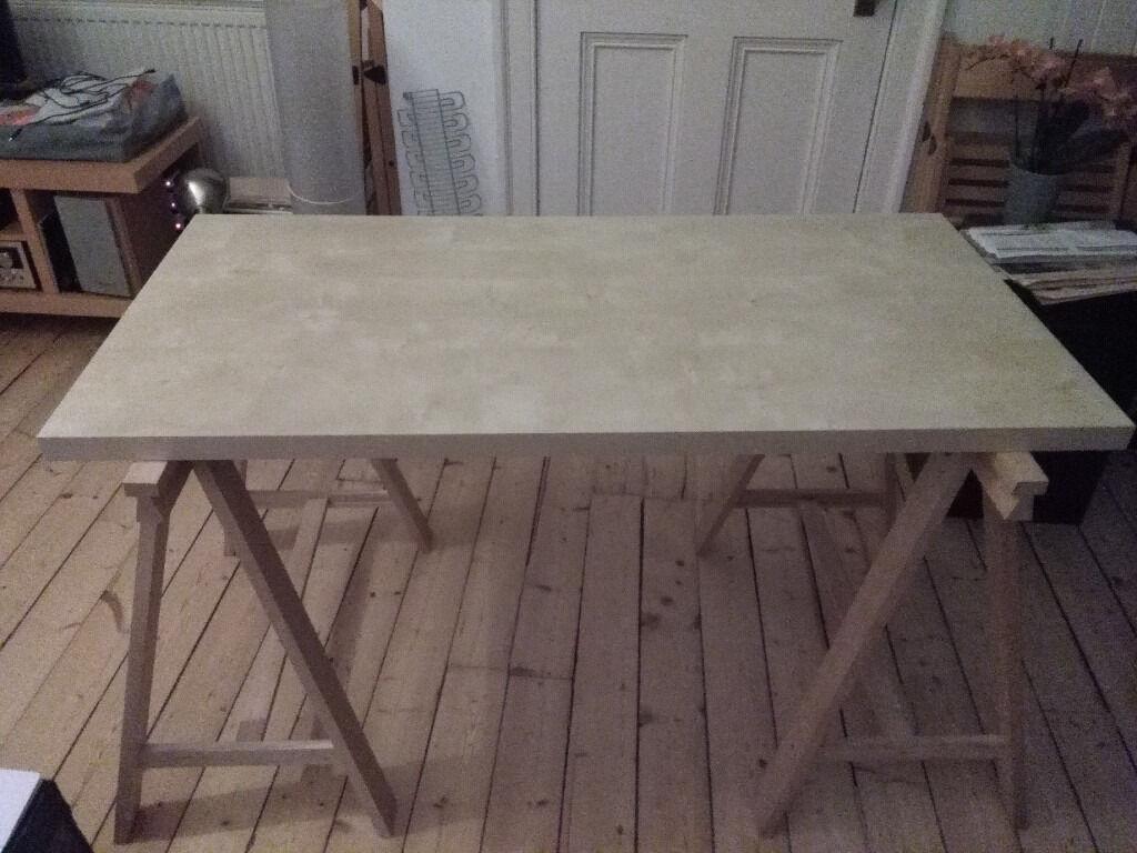 Ikea desk (2 table tops + legs) | in Morningside, Edinburgh | Gumtree