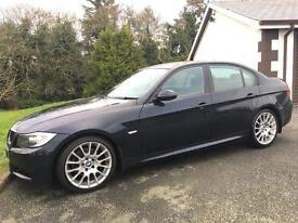 BMW 320D EDITION 2008 M SPORT ***12 MONTHS MOT*** I DRIVE*** SAT NAV ***