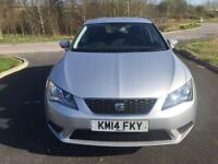 2014 Seat Leon 1.6 TDI SE 5 Door Hatchback 1 Owner Full Service History 62000 Miles Only PX Welcome