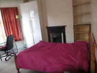 Room in shared house near univ. hospital short term available and all inclusive