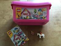Lego Set 5560 Girls Pink boxed with extras