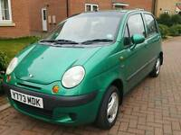 2001 Daewoo Matiz Hatchback Se+ VERY LOW MILAGE