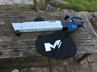 Mac Allister 2800W Leafblower & Vacuum