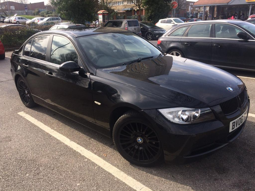 Full Black Bmw With Black Rims 3 Series In Aston West
