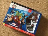PS3 Disney Infinity super heroes starter set