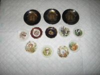 A Collection of miniature Plates