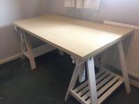 Ikea desk (finnvard / linnmon)