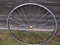 Vintage Alloy Race Bike Front Wheel 700c Road Racer Rim