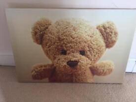 Teddy wall canvas / picture
