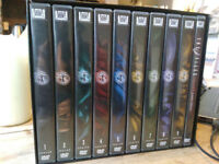 X-Files Complete DVD boxset 1-9 with both films