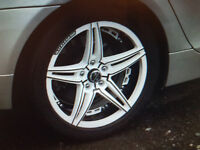 unmarked 18ins bmw wheels 8.5x18x5/120 with tyres