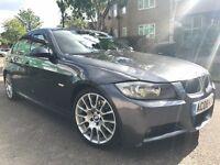 2008 BMW 3 SERIES 320d M SPORT BUSINESS EDITION   SAT NAT   LEATHERS   FSH   not 318i 318d 325d 330d