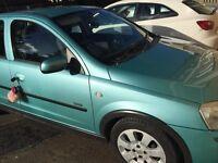Vauxhall Corsa 2003(53) 1.2 5dr Sxi 83,000miles