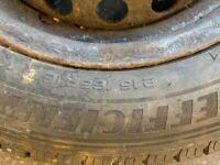 Transit custom wheel good year tyre brand new with rim