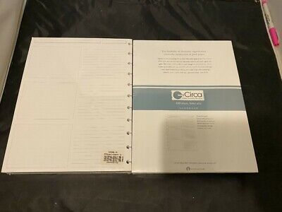 New 2 Pack Levenger Circa 300 Sheets Letter Size Refill Pages