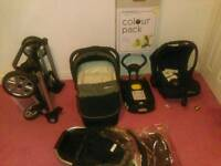 Travel system with Isofix