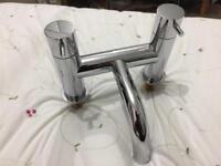 Bath Mixer shower chrome tap bathstore