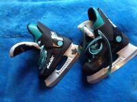 Kids ice skates - UK size 2.