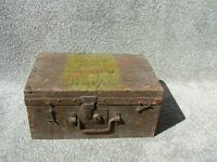 OLD RAF STORAGE BOX 16 IN X12IN X7IN DEEP