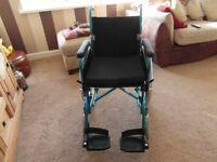 Lightweight Wheelchair U-Go Esteem Transit Model Excellent Condition