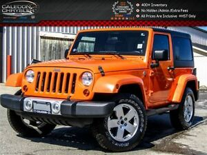 2012 Jeep Wrangler Sahara|4x4|Hard Top|Pwr Windows|Keyless Entry