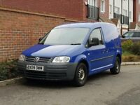 Volkswagen Caddy C20 Plus SDI (2009/09) + NEW SHAPE + TWIN SLIDING DOORS + FSH + VAN + NO VAT +