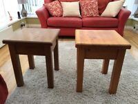 Matching lamp tables