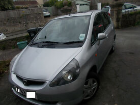 BARGAIN!!.. 12 MONTHS M.O.T .. Nice Little Reliable Car .. HONDA JAZZ 1.4 SE SPORTS