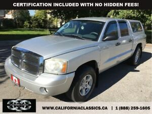 2007 Dodge Dakota SLT QUADCAB V8! - 4X4