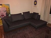 Camerich 'Alison' Corner Sofa w/Chase on Right (Brand New)