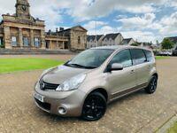 2013, Nissan Note N-Tec+, 88BHP, 69,700miles, 12 months MOT*, S/Hist x6*, 5 Door, Petrol, Manual