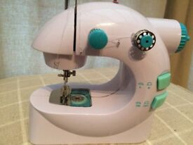 Easy stitch lightweight portable mini sewing machine with foot pedal