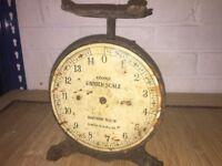 antique Home Scale Izons Cast Iron
