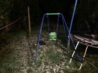 Swing with two seats