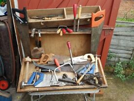 joiners box with tools