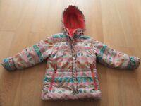 ROSSIGNOL VIRAGE THERMAL QUILTED ANORAK COAT SKI SNOW JACKET GIRLS AGE 6 YEARS