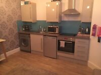 One bed apartment, 6/12 AST, professionals only, non-smoker, no pets, no children. £550 plus bills