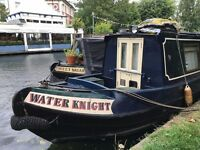 High-spec, high ceiling 50' Piper narrowboat
