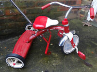 Radio Flyer Classic Trike with Push Handle