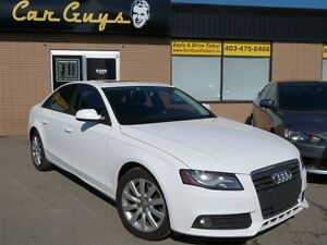 2012 Audi A4 2.0T (M6) - Heated Leather, Sunroof, Bluetooth
