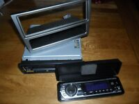 Sony CDX-GT62OU Car Stereo (4 speaker system) CD/MP3/USB/Front Aux. Used but in vg cond.