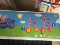 Peppa Pig 2in1 training bike