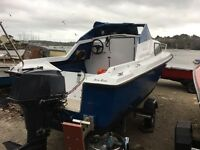 Wanted auxsilary engine 2-5hp boat outboard
