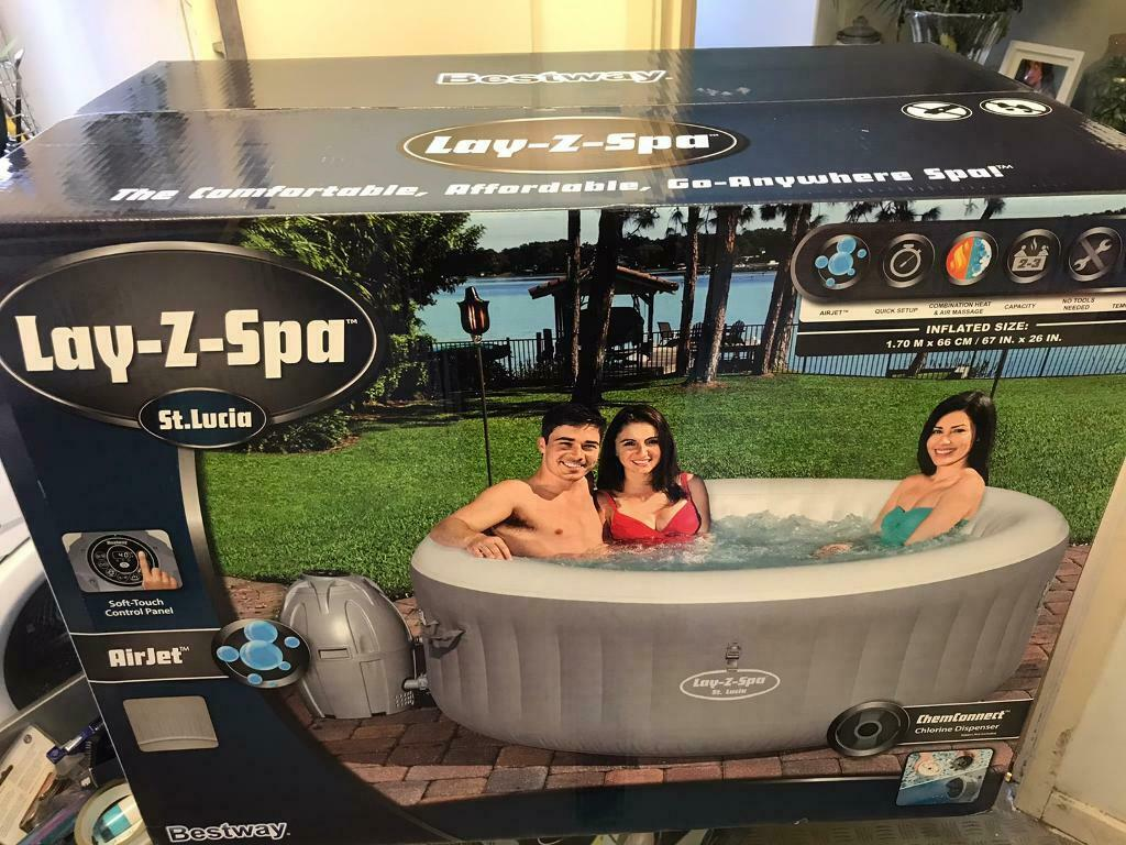 Lay Z Spa St Lucia Hot Tub In Kitts Green West Midlands Gumtree