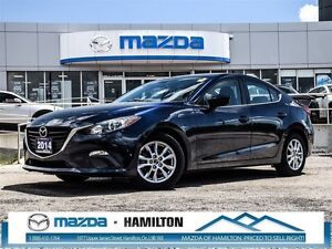 2014 Mazda MAZDA3 GS-SKY, LOW KM, AUTOMATIC!